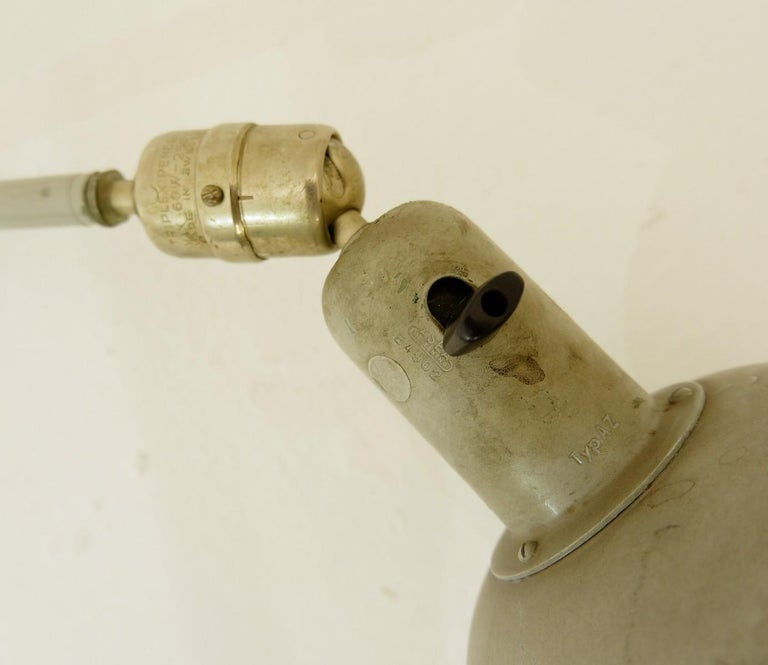 Swedish Johan Petter Johansson Triplex Lamp, ASEA, Mid-20th Century, 1950s For Sale