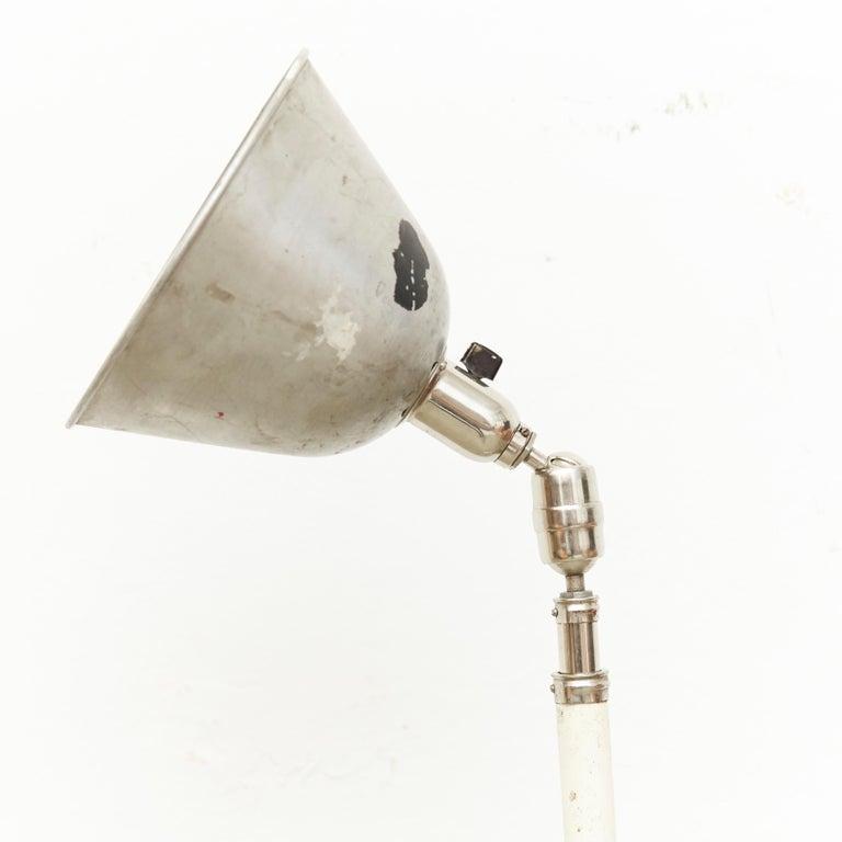 Swedish Johan Petter Johansson Triplex Telescopic Lamp, circa 1930 For Sale