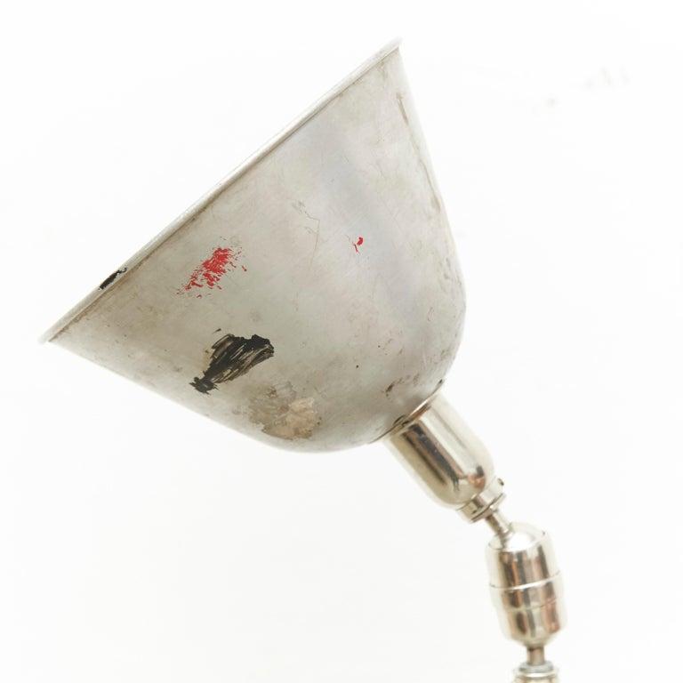 Johan Petter Johansson Triplex Telescopic Lamp, circa 1930 In Good Condition For Sale In Barcelona, Barcelona