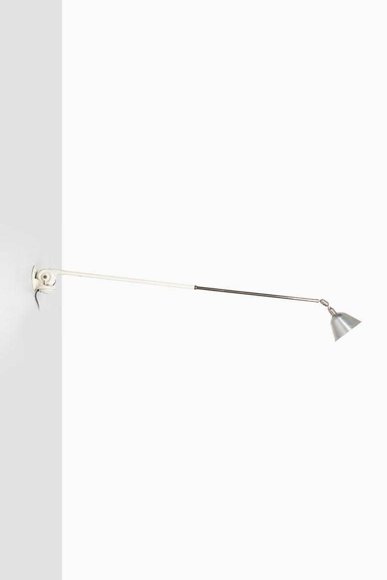 Scandinavian Modern Johan Petter Johansson Triplex Wall / Ceiling Lamp by Triplex Fabriken in Sweden For Sale