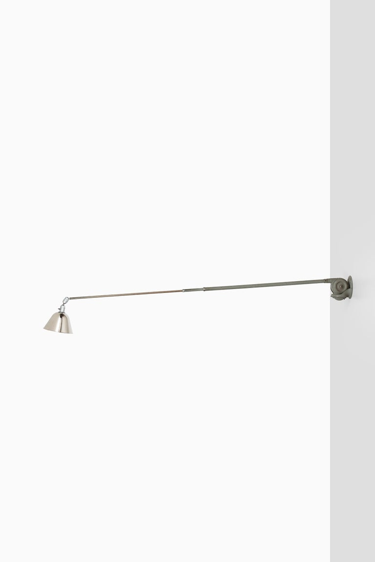 Johan Petter Johansson Triplex Wall / Ceiling Lamp by Triplex Fabriken in Sweden In Good Condition For Sale In Malmo, SE