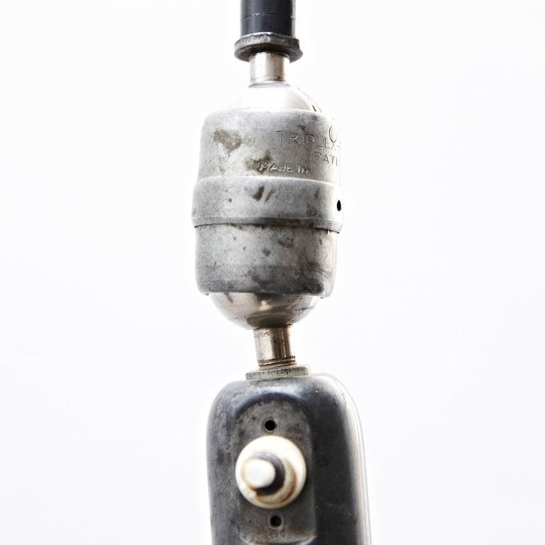 Johan Petter Johansson Triplex Wall Lamp, circa 1930 In Good Condition For Sale In Barcelona, Barcelona