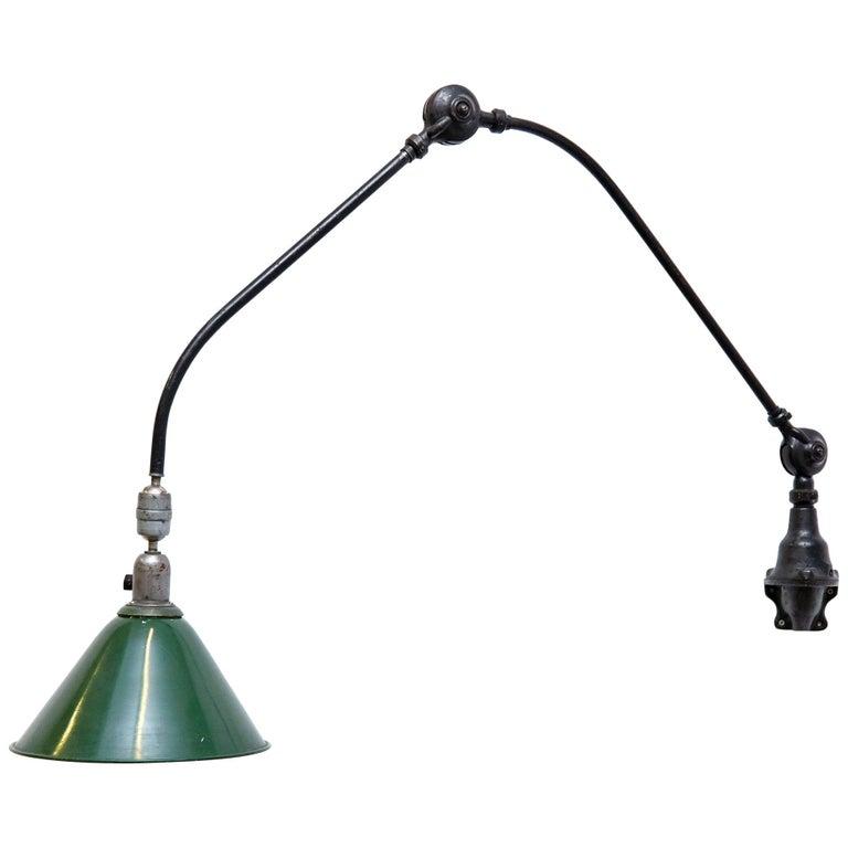 Johan Petter Johansson Triplex Wall Lamp, circa 1930 For Sale