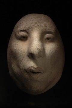 Nyllen 293 - 21st Century, Contemporary, Figurative Sculpture, Portrait, Ceramic