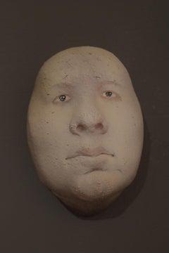 Nyllen 38 - 21st Century, Contemporary, Figurative Sculpture, Portrait, Ceramic