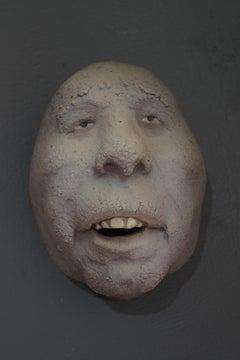 Nyllen 42 - 21st Century, Contemporary, Figurative Sculpture, Portrait, Ceramic