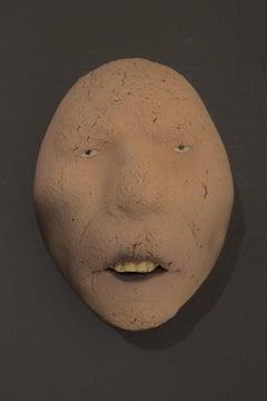 Nyllen 48 - 21st Century, Contemporary, Figurative Sculpture, Portrait, Ceramic