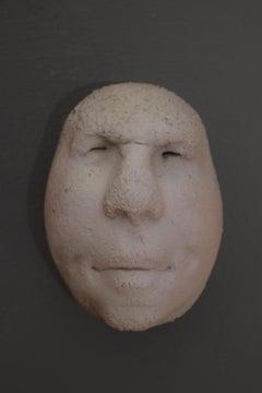 Nyllen 6 - 21st Century, Contemporary, Figurative Sculpture, Portrait, Ceramic