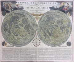 EARLY MAP OF THE MOON - Foundation map