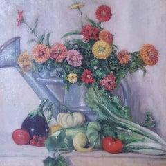 Flower & Vegtable Arrangement