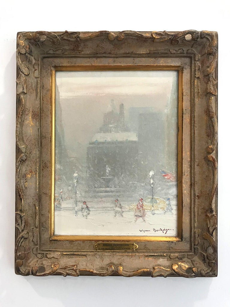 The Grand Army Plaza in Winter For Sale 13