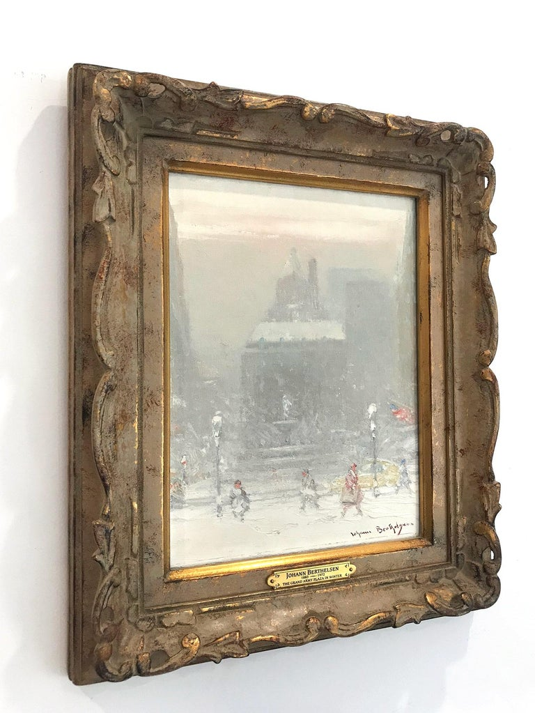 The Grand Army Plaza in Winter For Sale 15