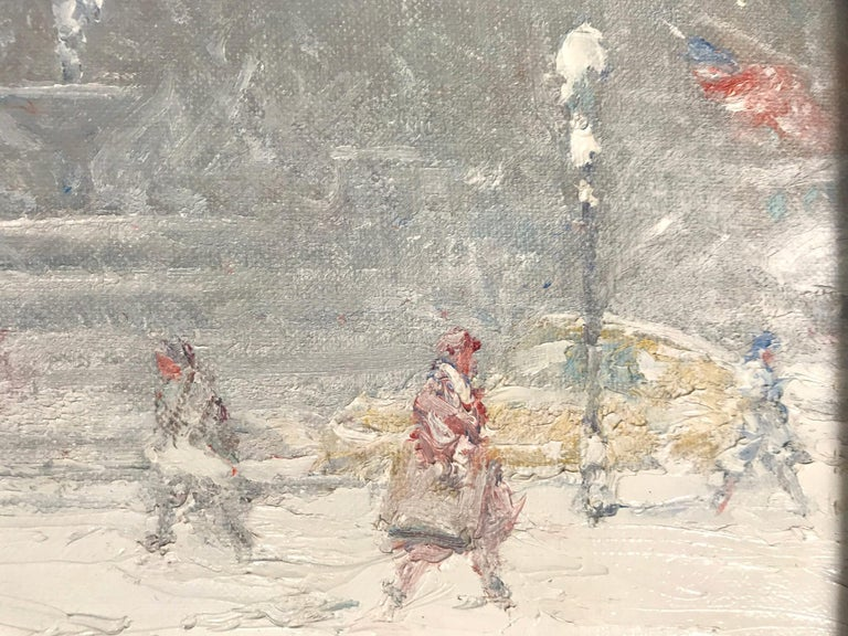 The Grand Army Plaza in Winter For Sale 3