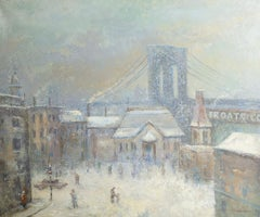 Winter Brooklyn Bridge