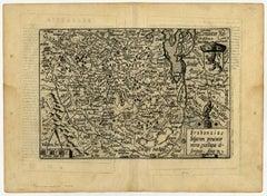Brabantiae Belgarum provinciae - Map of Brabant.