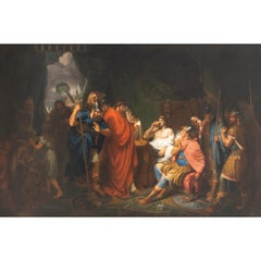Alexander the Great and his Physician Philippos, Tischbein Circle, 18th/19th C