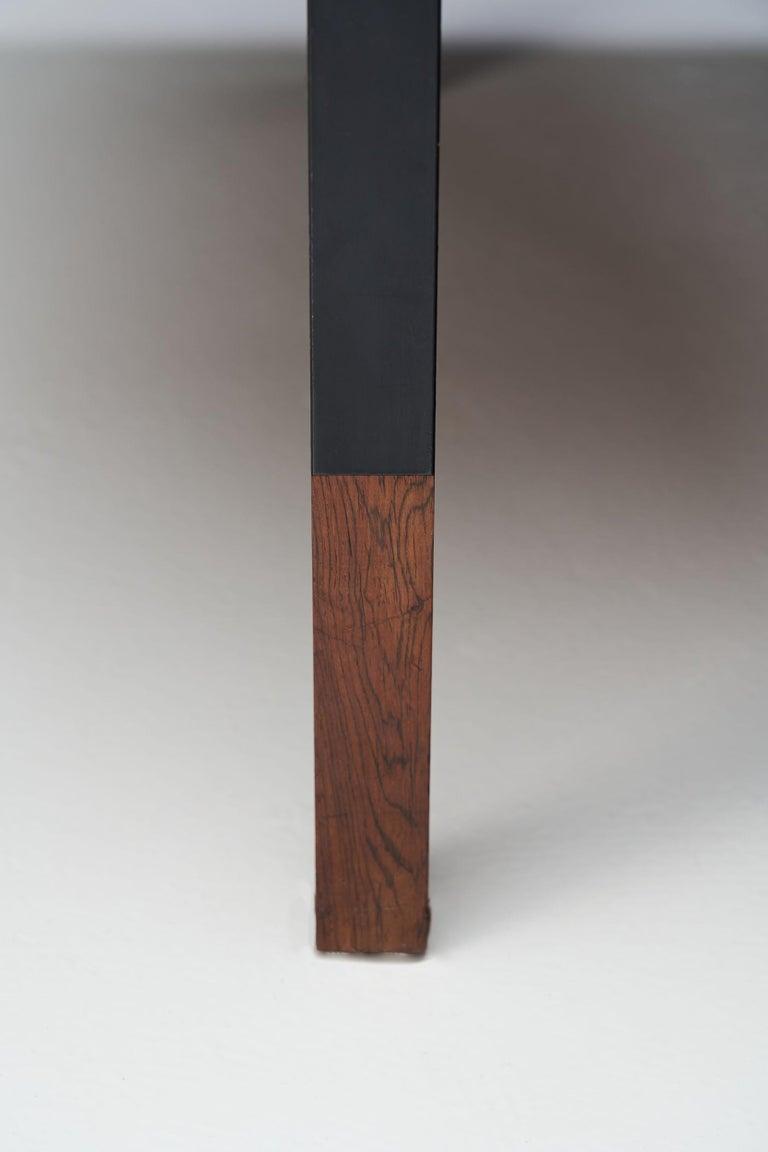 Wood Johannes Aasbjerg Rectangular Coffee Table, Denmark, 1959 For Sale