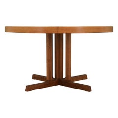 Johannes Andersen Ash Table Danish Design 1970s Vintage