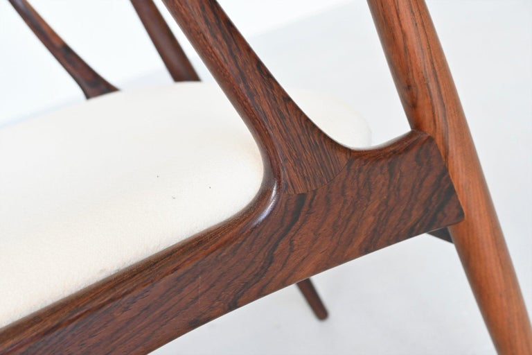 Johannes Andersen BA113 Rosewood Dining Chairs, Denmark, 1969 For Sale 4