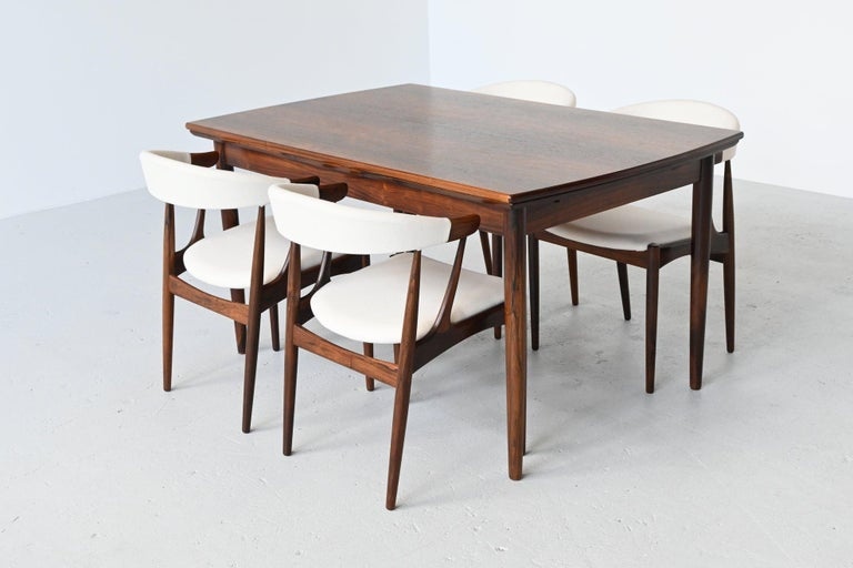 Johannes Andersen BA113 Rosewood Dining Chairs, Denmark, 1969 For Sale 5