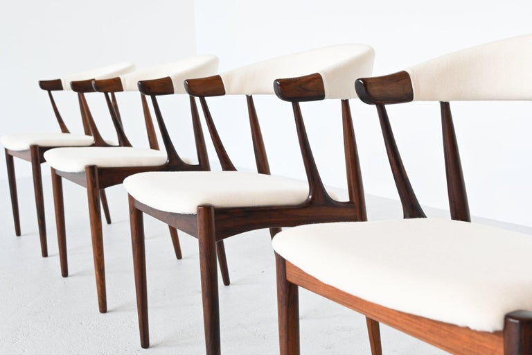 Mid-20th Century Johannes Andersen BA113 Rosewood Dining Chairs, Denmark, 1969 For Sale