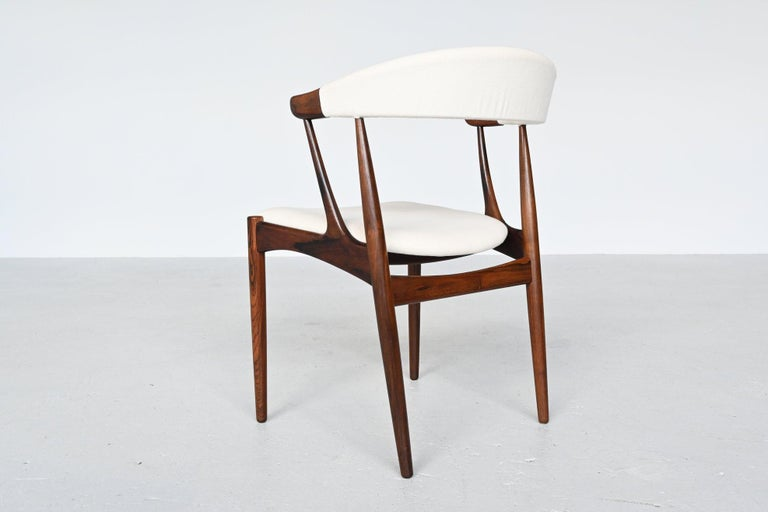 Johannes Andersen BA113 Rosewood Dining Chairs, Denmark, 1969 For Sale 1