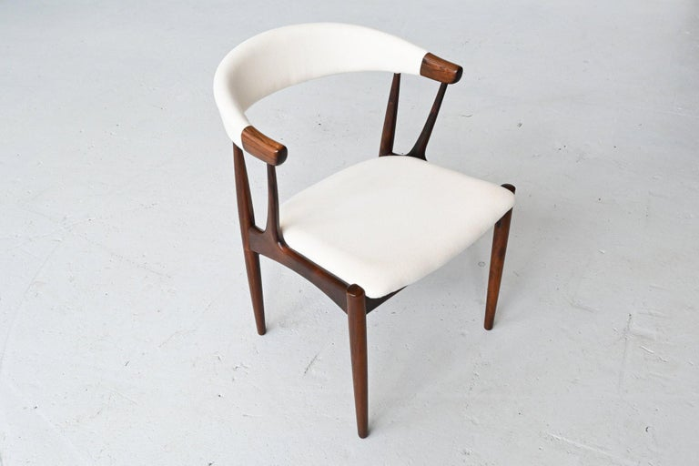 Johannes Andersen BA113 Rosewood Dining Chairs, Denmark, 1969 For Sale 2