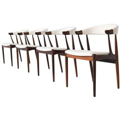 Johannes Andersen BA113 Rosewood Dining Chairs, Denmark, 1969