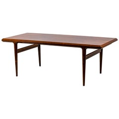 Johannes Andersen, Coffee Table in Rosewood, 1960s