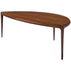 Johannes Andersen Coffee Table in Rosewood