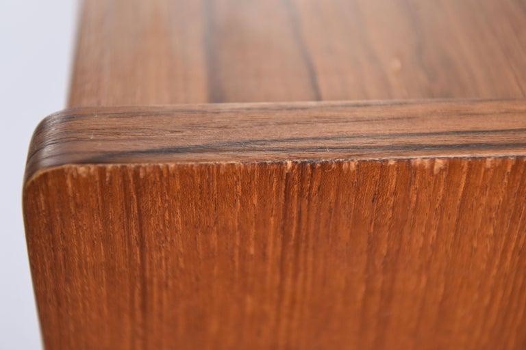 Johannes Andersen Danish Midcentury Teak Sideboard For Sale 12