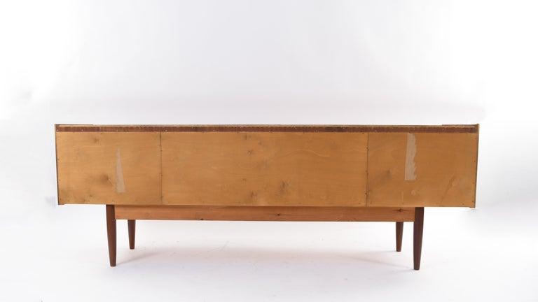 Johannes Andersen Danish Midcentury Teak Sideboard For Sale 14