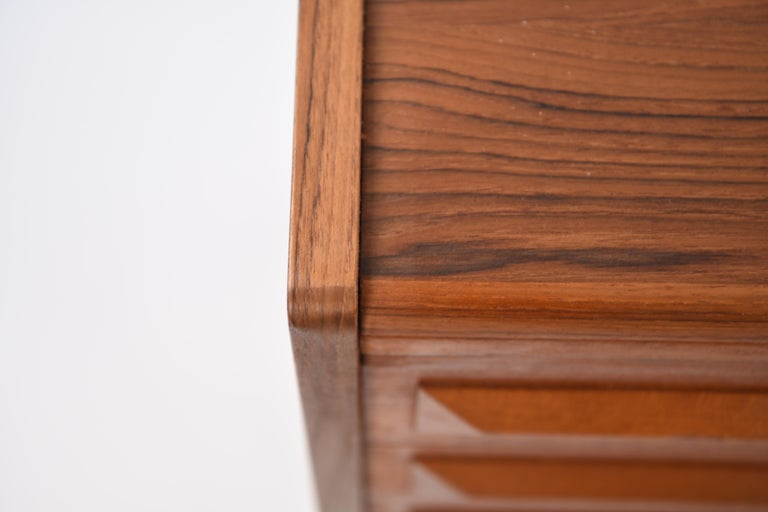 Mid-Century Modern Johannes Andersen Danish Midcentury Teak Sideboard For Sale