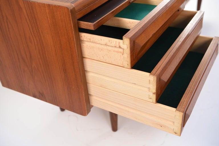 Johannes Andersen Danish Midcentury Teak Sideboard For Sale 2