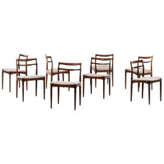 Johannes Andersen Dining Chairs by Chr. Linnebergs Møbelfabrik in Denmark