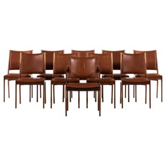 Johannes Andersen Dining Chairs by Uldum Møbelfabrik in Denmark