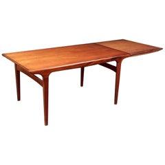 Johannes Andersen, Dining Table, Teak, Rosewood