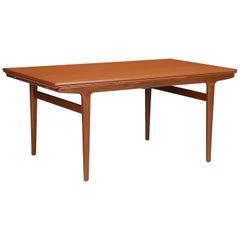 Johannes Andersen Draw Leaf Dining Table for Uldum Møbelfabrik