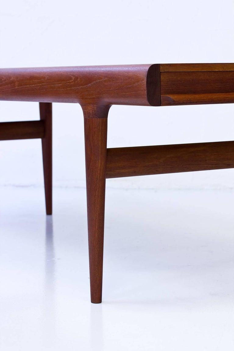 Johannes Andersen Extendable Teak Coffee Table, Denmark ...