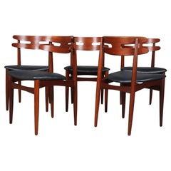 Johannes Andersen Five Dining Chairs