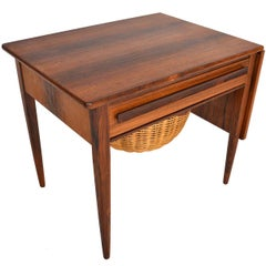 Johannes Andersen for CFC Rosewood Sewing Cart
