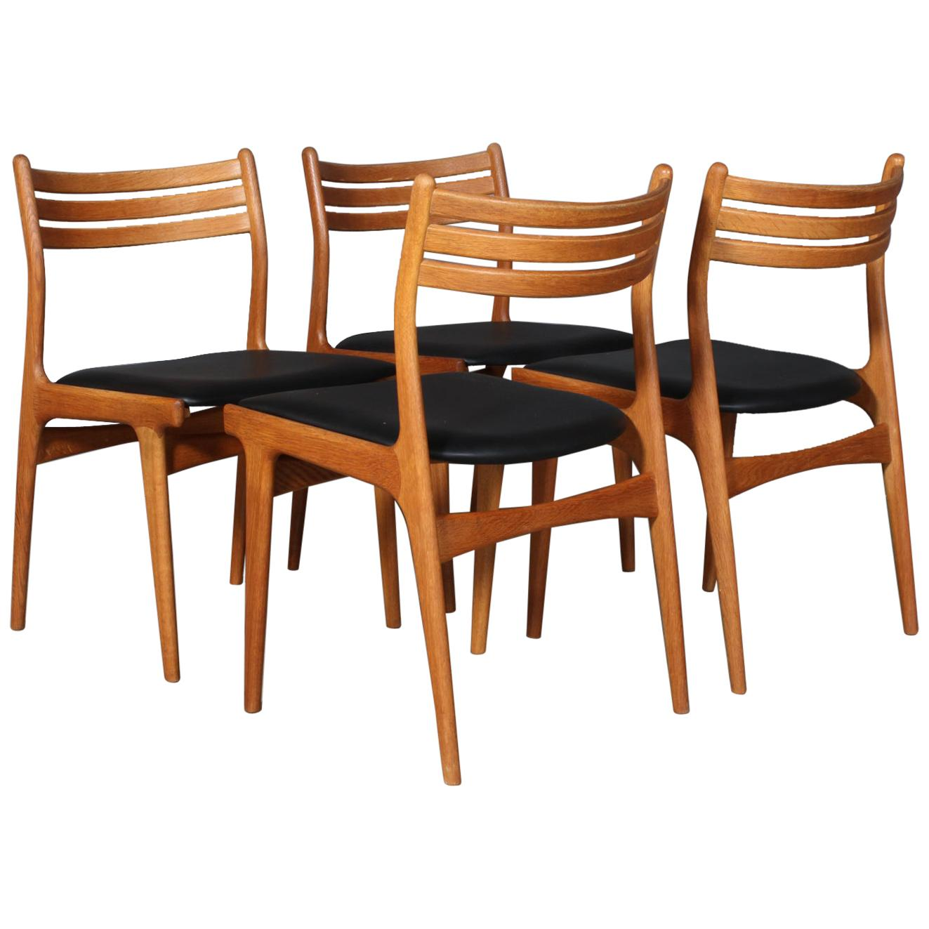 Johannes Andersen Four Dining Chairs