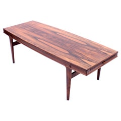 Johannes Andersen, Rosewood Coffee Table for Trensum, 1960s