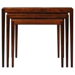 Johannes Andersen, Rosewood Nest of Tables