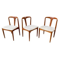 "Johannes Andersen Sculpted ""Juliane"" Teak Chairs"
