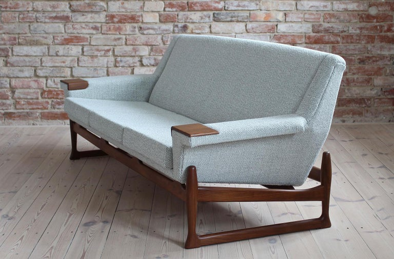 Johannes Andersen Sofa Set, AB Trensums, Mid-Century Modern, Scandinavian Design For Sale 4