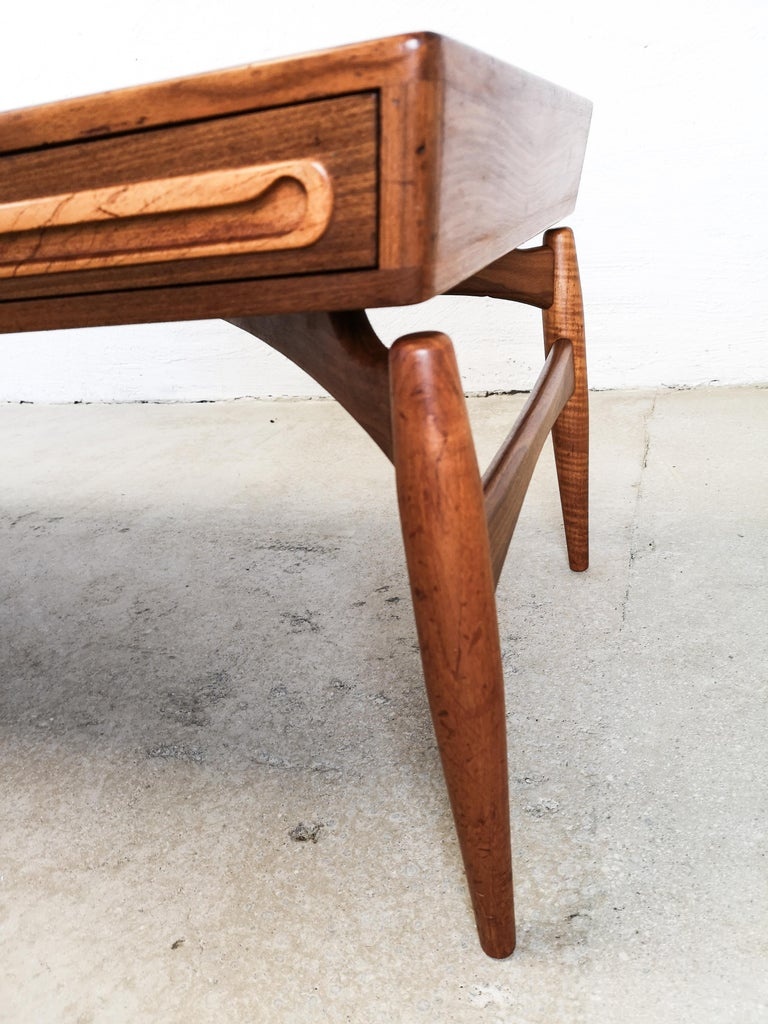 Johannes Andersen Teak Coffee Table for Trensum For Sale ...