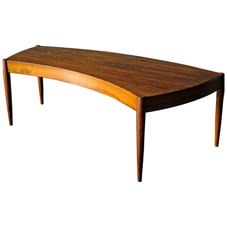 Johannes Anderson Rosewood Coffee Table For Sale