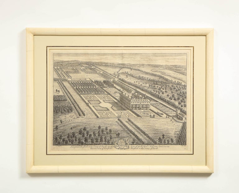 Set of Ten Views of Country Houses from the Britannia Illustrata For Sale 6