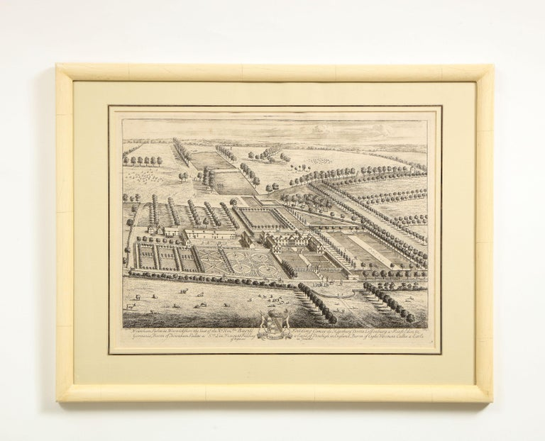 Set of Ten Views of Country Houses from the Britannia Illustrata For Sale 8